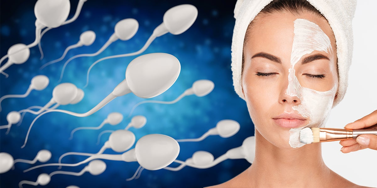 Sperm Face Masks Can Slow Down Aging, According To Beauty Expert