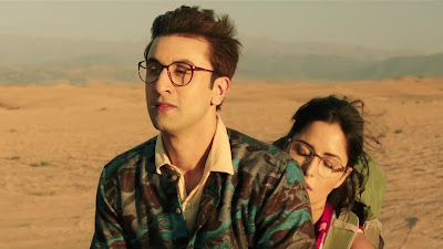 Ranbir Kapoor And Katrina Kaif HD Wallpaper Of Jagga Jasoos Movie