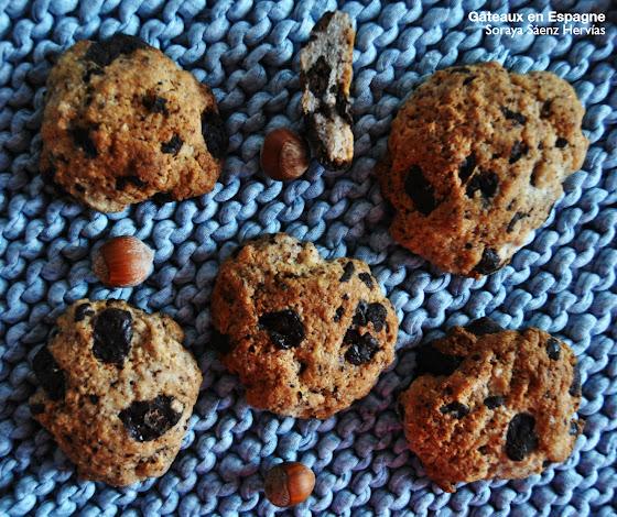 recette cookies okara noisette