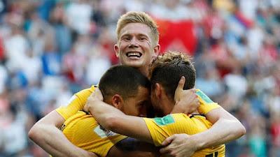 Highlight Belgia 2-0 Inggris, 14 Juli 2018