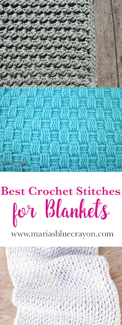 Best Crochet Stitches For Blankets Marias Blue Crayon