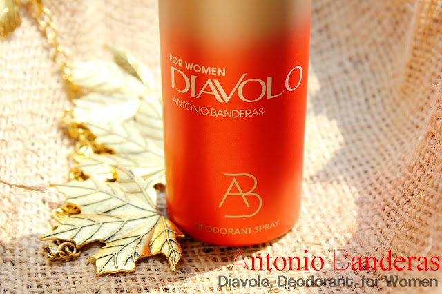 Отзыв: Дезодорант-спрей Antonio Banderas Diavolo женский.