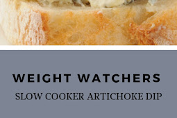 Weight Watchers Slow Cooker Artichoke Dip