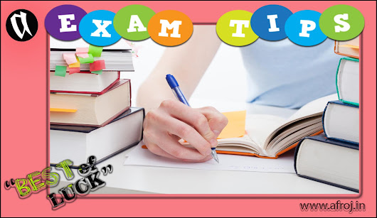 How to Success in Exam: Exam Tips and Hint - Afroj.In