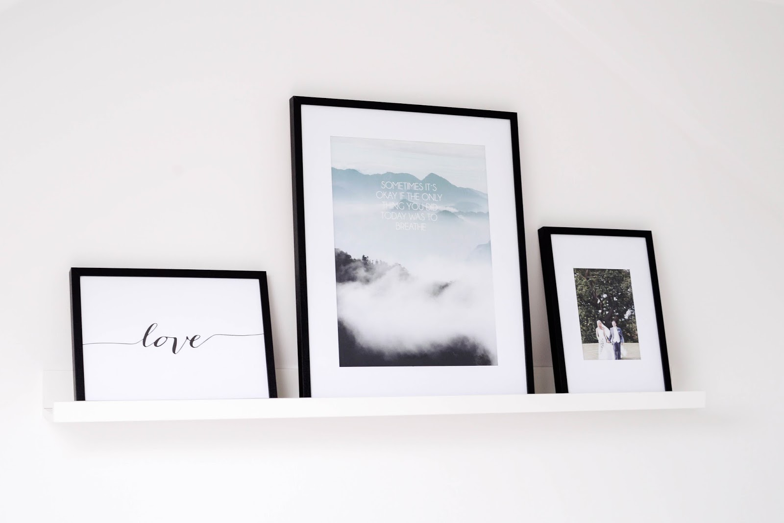 Around our Home: Choosing our prints & frames - Bump to Baby ...