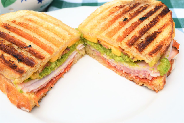 Grilled Turkey Sandwiches