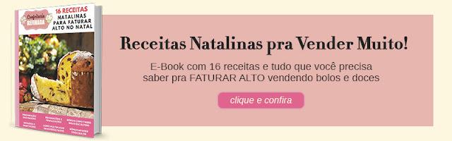 E-Book com 16 receitas e tudo que você precisa saber pra FATURAR ALTO vendendo bolos e doces