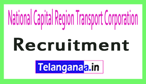 National Capital Region Transport Corporation NCRTC Recruitment