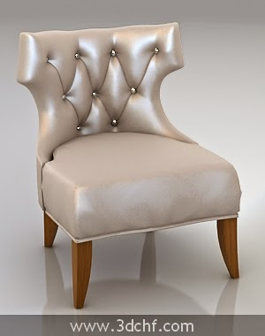 classic chair design 3d
