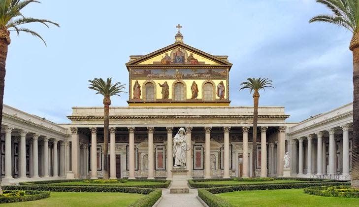 Igreja Papal Basilica di San Paolo Fuori Le Mura