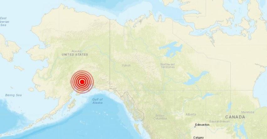 Terremoto en Alaska de Magnitud 7.0 y Alerta de Tsunami (Hoy Viernes 30 Noviembre 2018) Sismo Temblor EPICENTRO - Estados Unidos - EE.UU. - Cook Inlet - Kenai - USGS