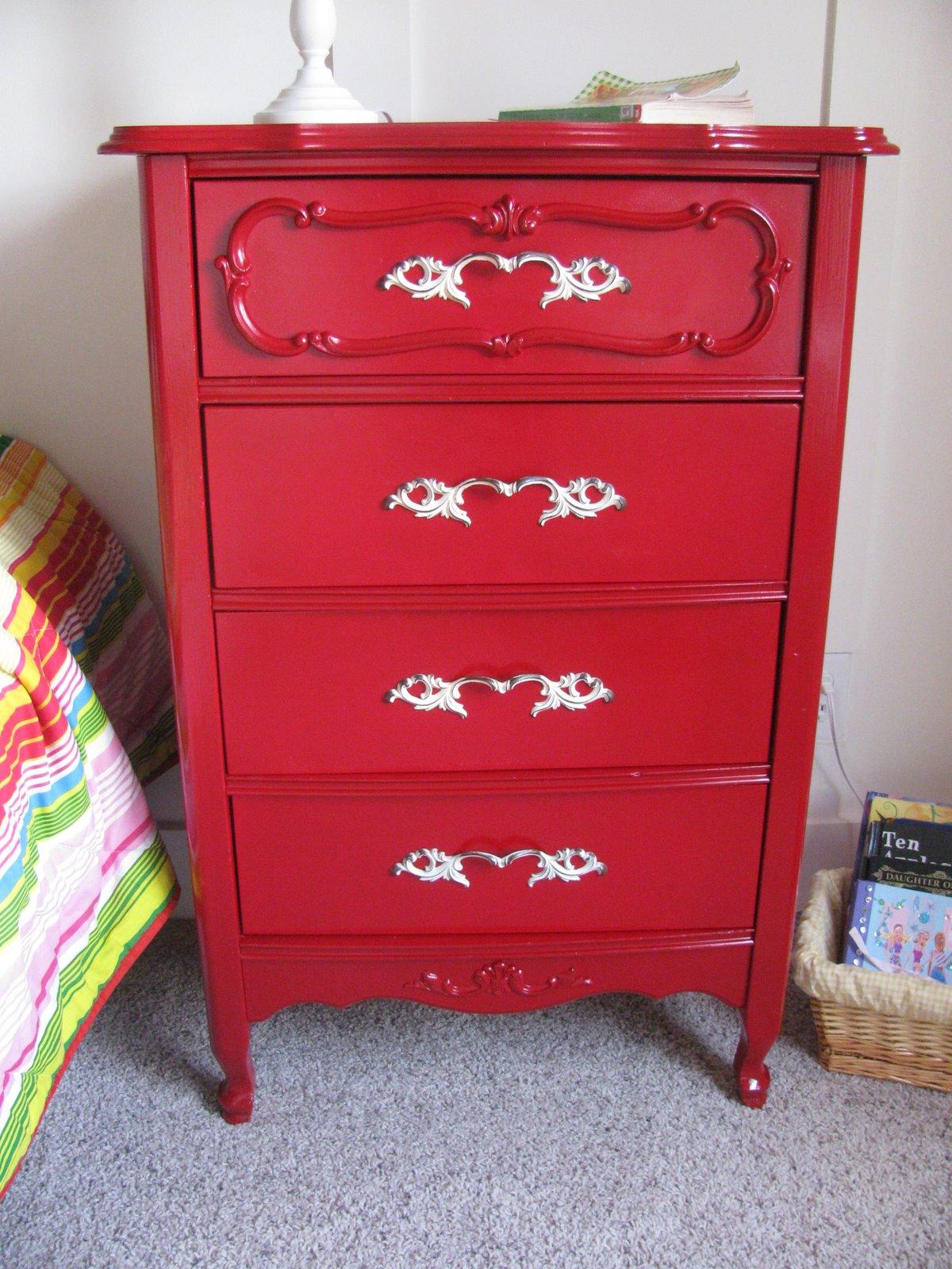 Cheapaholic Red Dresser