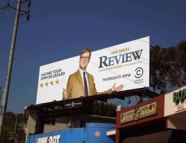 Review season 1 Comedy Central billboard
