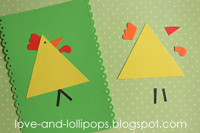 Love And Lollipops: Easy Chicken Craft
