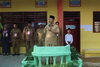 Kemenag Tanjungbalai Membuka UN Tingkat MTs