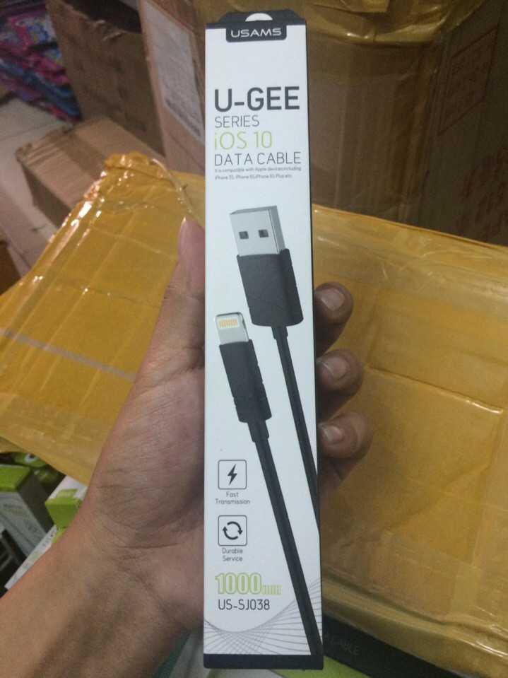 Cáp sạc nhanh cho iPhone 5 6 chính hãng Usams U-GEE