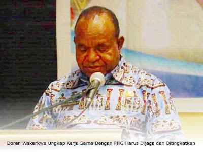 Doren Wakerkwa Ungkap Kerja Sama Dengan PNG Harus Dijaga dan Ditingkatkan