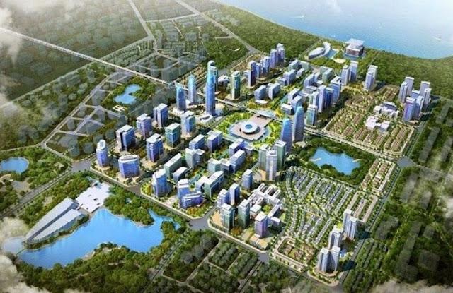 Vị trí của khu đô thị Vincity Gia Lâm