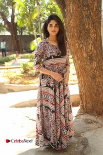 Actress Sunaina Latest Stills in Floral Dress at Pelliki Mundu Prema Katha Trailer Launch  0048.JPG
