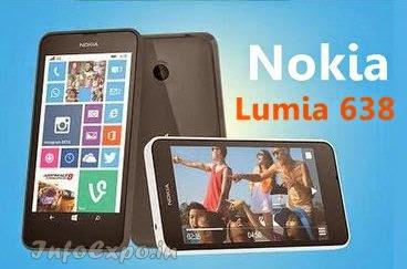 NokiaLumia 638:4.5 inch,1.2GHz quad-core  Windows Phone Specs, Price