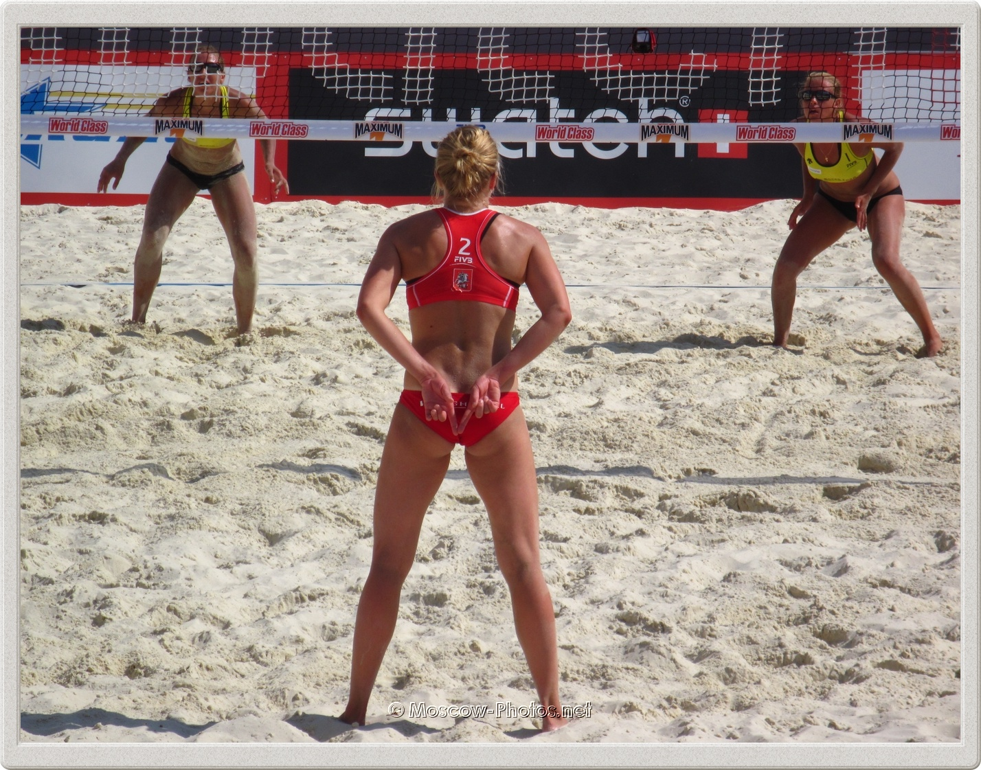 Beach Volleyball Swatch World Tour. Grand Slam Moscow.