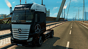 Mercedes-Benz skin for truck MP4