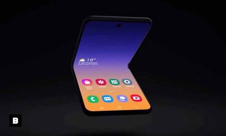 Video: Samsung revela concepto de celular con pantalla plegable