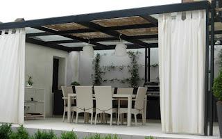 cubrir una terraza
