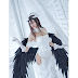 Albedo Cosplay Personagem de Overlord