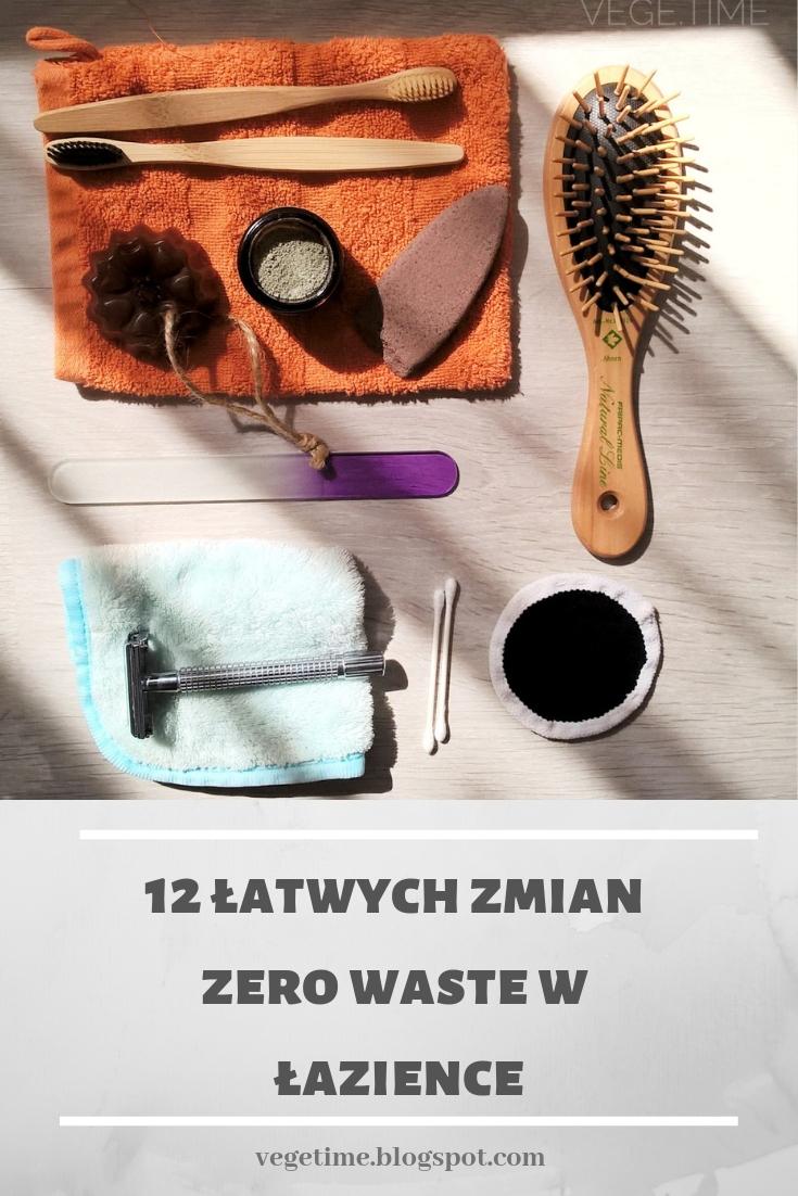 12 łatwych zmian zero waste w łazience
