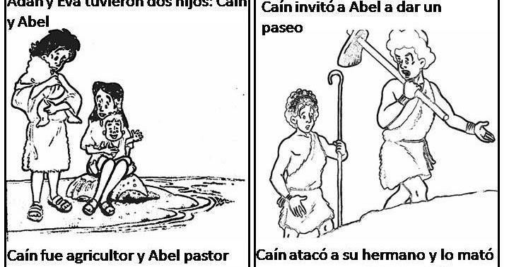 Compartiendo por amor: Caín y Abel
