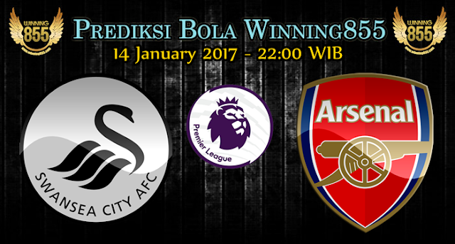 Prediksi Skor Swansea City vs Arsenal