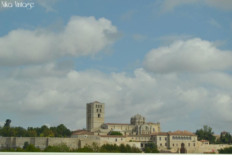 la catedral, cimborrio, vista zamora