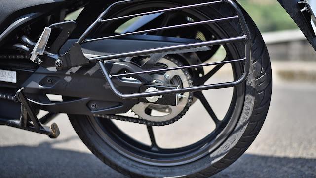 New Suzuki Intruder 150 rear wheel hd pics  