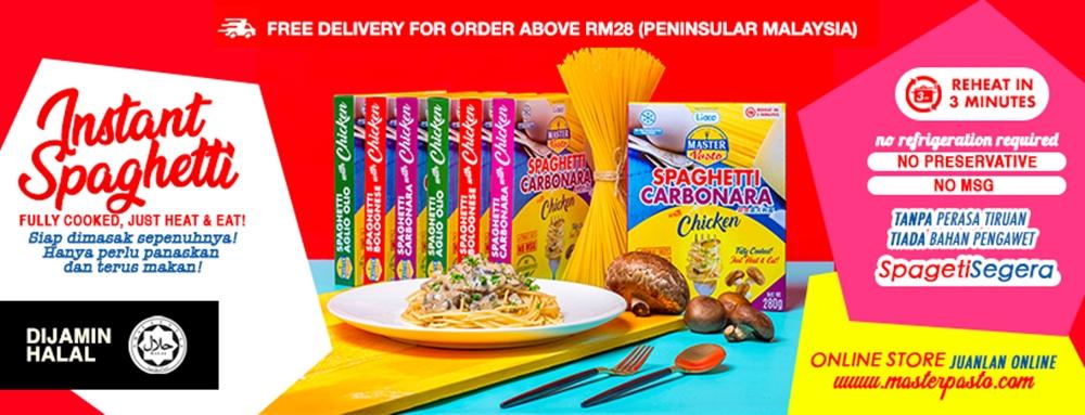 Master Pasto, Lioco Food Industries Sdn. Bhd, Halal Pasta, Instant Pasta, Cara Mudah Menyediakan Pasta, Rawlins Eats, Rawlins GLAM,