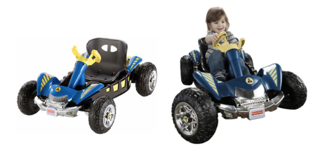 Walmart.com:  Fisher-Price Power Wheels Lil Dune Racer Battery-Powered Ride-On = $79 + FREE Shipping!  Regularly $119!