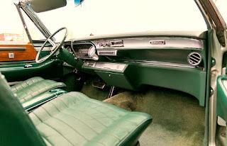 1966 Cadillac Eldorado Cabriolet Green Dashboard