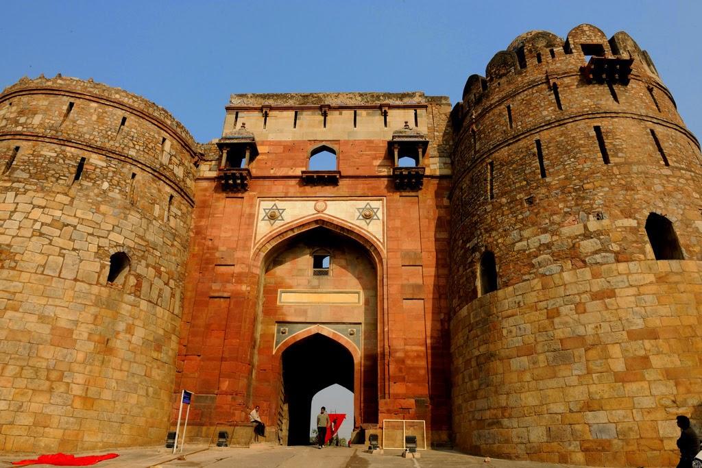 Purana Qila - Cycling Tracks in Delhi NCR