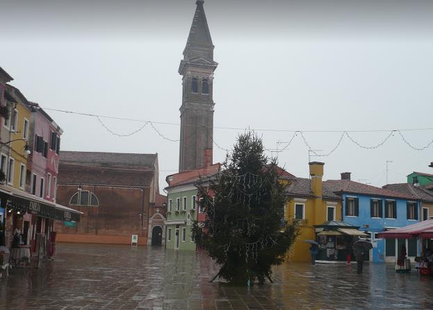 Piazza Galuppi Burano