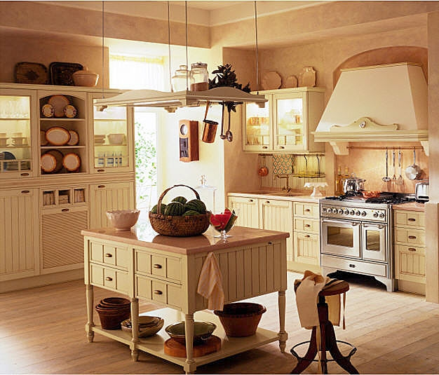 Como Decorar Una Cocina Rustica Ideas Para Decorar Disenar Y - Decorar-una-cocina-rustica