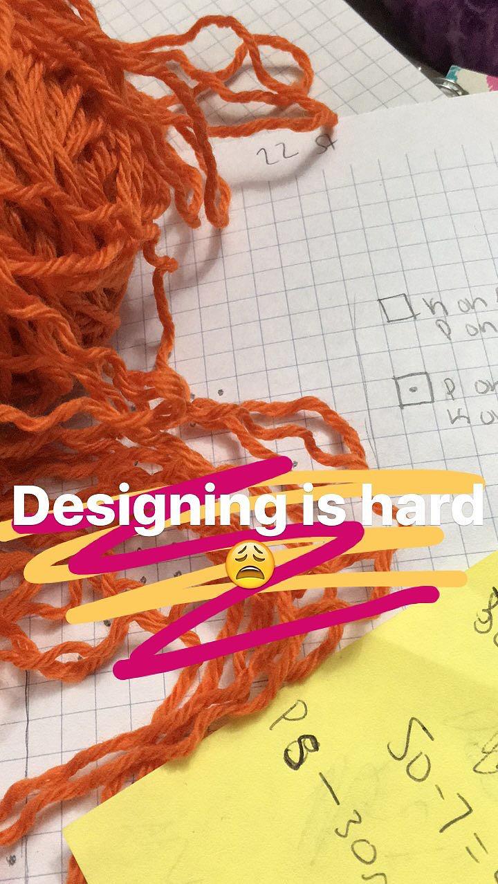 hand knit design
