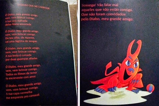 """""""Orações a Satanás"""": Mães ficam chocadas com livro infantil de escola pública"""