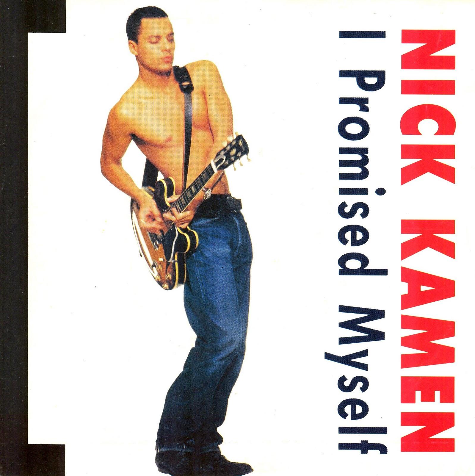 Lansure's Music Paraphernalia: NICK KAMEN | Press Kits ...