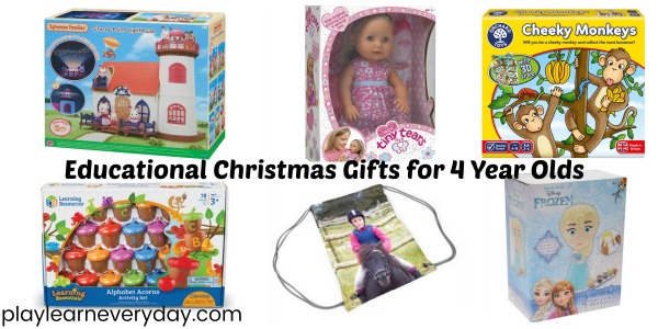 Educational Christmas Gift Ideas for a 4 Year Old - Play and Learn ...