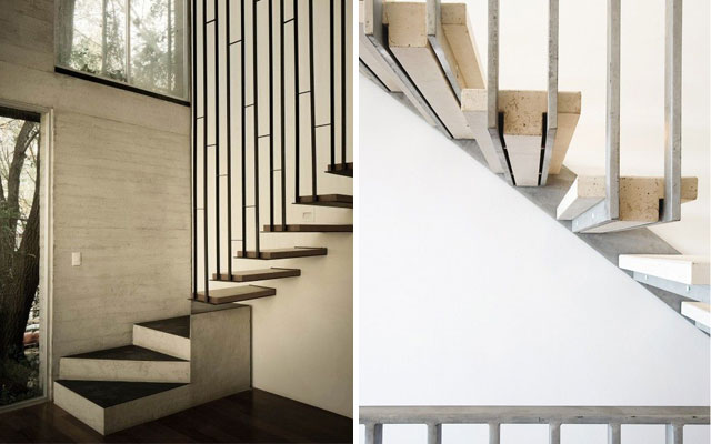 Metal Staircase Handrails For Wooden Stairs Designs