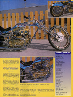 sportster digger on freeway magazine italia n 5 year 1994 pag 2