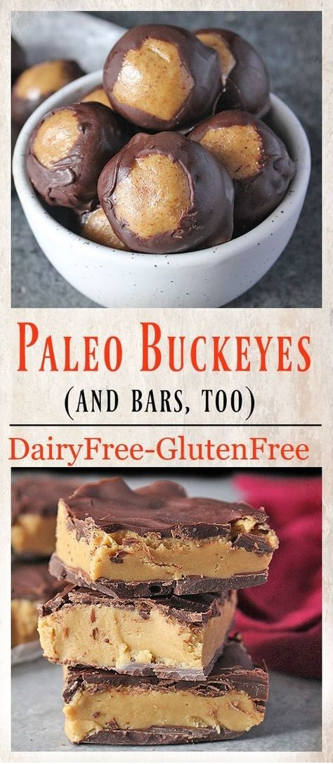 Healthy Paleo Buckeyes