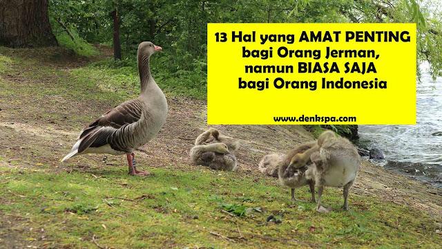 13 Hal Yang AMAT PENTING bagi Orang Jerman, namun BIASA SAJA bagi Orang Indonesia