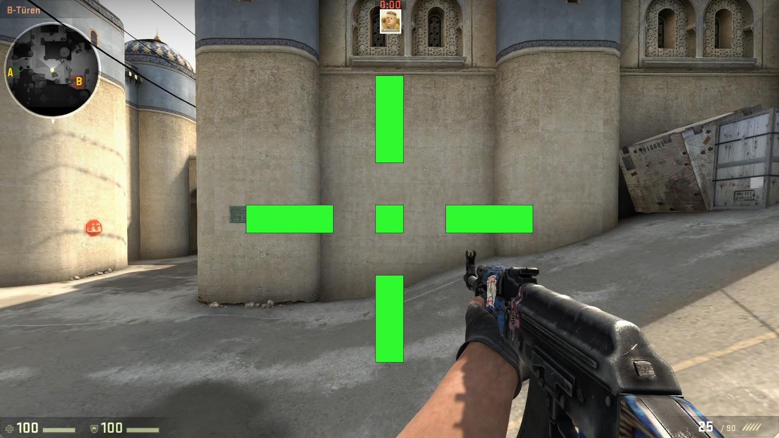 CS:GO | All types of crosshair - Counter-Strike Guide