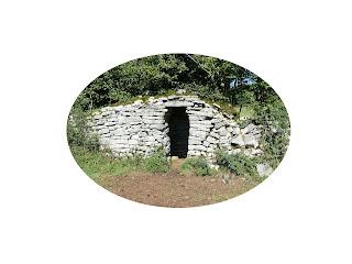 Cabanes de pierres seches du plateau de Crançot